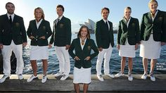 2012 Australian Olympic uniform