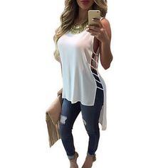 Summer 2016 hole sexy tee shirt femme camisetas roupa feminina poleras de mujer tshirt female t shirts long ladies tops T-shirts #Cheap #Tees