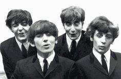 Paul McCartney, George Harrison, John Lennon, and Richard Starkey Beatles Funny, Beatles Love, Beatles Photos, Beatles Art, George Harrison, Paul Mccartney, John Lennon, Liverpool, Stairway To Heaven