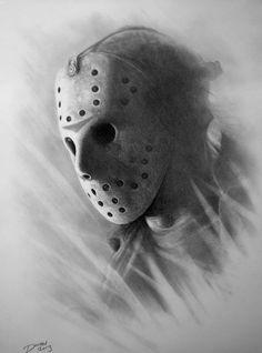 Jason Voorhees #horrorart