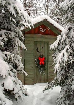 theenchantedcove:  outback Winter cabin / Winter Wonderland