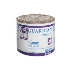 Guardian R 19 Kraft Faced Fiberglass Insulation Roll 23 X 39 17 75 1 Sq Ft Kitchen In 2019 Fiberglass Insulation Insulation Coffee Cans