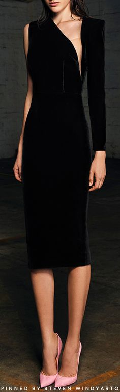 Alex Perry Pre Fall 2017 Lookbook - Phoenix One Sleeve Lady Dress #alexperry #pf17 #prefall2017