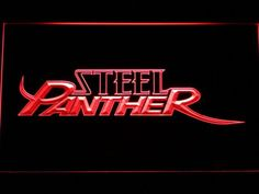 Steel Panther LED Sign
