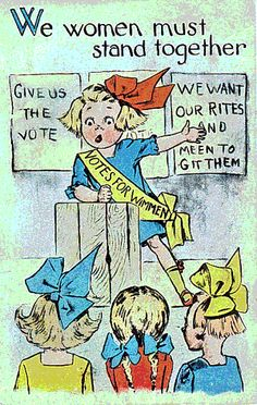 How Suffragist Post Cards Helped Get Out the Vote -- at the click