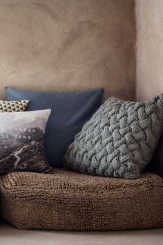 Cable-knit cushion cover | H&M