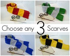 NO CHRISTMAS DELIVERY Set of 3 Harry Potter por PiecesByPolly