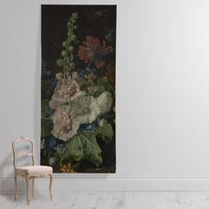 Shop 'Flowers in a Vase with Shells and Insects' Wallpaper Mural from the The National Gallery collection from Surface View today! Hollyhock, Image Collection, View Image, Flower Vases, Botanical Gardens, Wall Murals, Artsy, Bloom, Wallpaper
