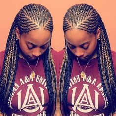 Beauty: Trending Ghana Weaving Hairstyles - - Beauty: Trending Ghana W… (With images) Natural Hair Braids, Natural Hair Styles, Long Hair Styles, Braided Hairstyles For Black Women, African Braids Hairstyles, Black Cornrow Hairstyles, Black Girl Braids, Braids For Black Hair, Braids For Kids