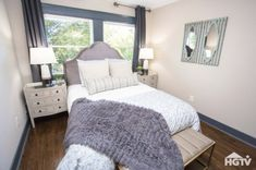 Masters of Flip on HGTV, your source for Masters of Flip videos, full episodes, photos, articles and updates. Watch Masters of Flip on HGTV. Guest Room Decor, Home, Bedroom Design, Family Room, Decor Design, Building A House, Tiny Cottage, Interior Design, House Flippers