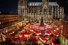 Luci di Natale a Norimberga - Germania