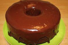 Chocolate Cream Cheese Pound Cake with Martha's Chocolate Icing