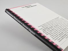 Pink Collezione Olgiati by Swiss design studio CCRZ. The campaign included invitation, poster, catalog, exhibition design, TV commercials. Graphic Design Books, Graphic Design Typography, Editorial Layout, Editorial Design, Book Design Graphique, Book Binding Design, Business Cards Layout, Printing And Binding, Packaging