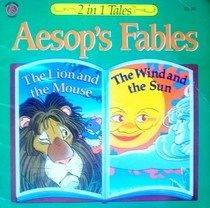 """Click to view a larger cover image of """"The Lion and the Mouse / The Wind and the Sun (Aesop's Fables)"""" by Aesop"""