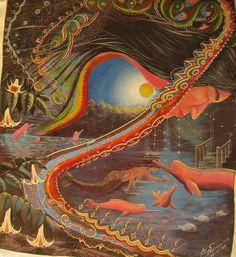 ~ sacred medicine peru visionary art sagrado medicina