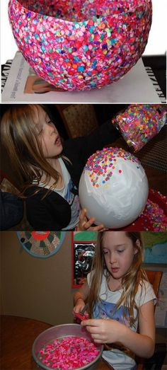 Kids Crafts You Have to Try: Balloon Bowl