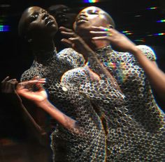 Lucid by Iris van Herpen Autumn/Winter 2016  Muse: Nykhor Paul  Photography by Peter Stigter