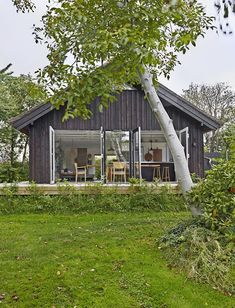 Woods, Scandinavian, Rammer, Shed, Outdoor Structures, Cabin, House Styles, Furniture, Home Decor