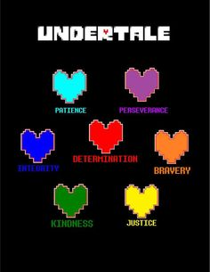 Traits of seven human souls linked to True Pacifist Route? (Theory) | Undertale Amino