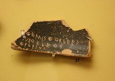 Ostrakon for Themistocles