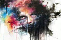 Colorful Portrait Watercolor Paintings by Silvia Pelissero                                                                                                                                                                                 More
