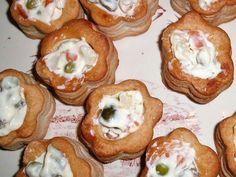 Vol au vent con insalata russa..... ricetta su ortodellafantasia.com
