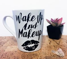 #makeup #makeuplover #coffeemug by PixieDreamsCreations on Etsy