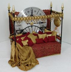 The Amazing Solar Energized Time Preservation Napping Bed - Steampunk Miniatures - Gallery - The Greenleaf Miniature Community