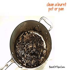 1000 images about cleaning stain removers on pinterest clean burnt pots stains and carpet - Clean burnt grease oven pots pans ...