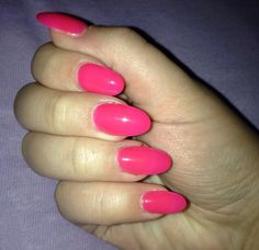 Neon Pink Nails ❤️