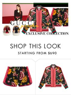 """""""Presenting the Gucci Garden Exclusive Collection: Contest Entry"""" by shanetb ❤ liked on Polyvore featuring Gucci and gucci"""