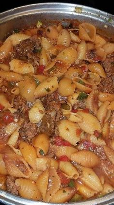 Ground Beef Recipes For Dinner, Dinner Recipes, Dinner Ideas, Yummy Recipes, Simple Recipes, Beef Dishes, Pasta Dishes, Rice Dishes, Pasta Recipes