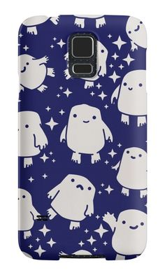 Doctor Who Adipose Cute Pattern by empyrie