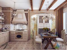 Дизайн-проект квартиры в ЖК Юбилейный Квартал, интерьер кухни, потолок с балками Stacked Washer Dryer, Washer And Dryer, Home Appliances, House Design, Projects, Ideas, House Appliances, Log Projects, Blue Prints