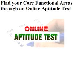 15 best psychometrics images on pinterest success the road and find your core functional areas through an online aptitude test fandeluxe Images
