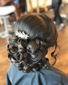 21 Best Quinceanera Hairstyles for Your Big Day Sweet 16 Hairstyles, Quince Hairstyles, Chic Hairstyles, Princess Hairstyles, Elegant Hairstyles, Bride Hairstyles, Updo Hairstyle, Party Hairstyle, Gorgeous Hairstyles