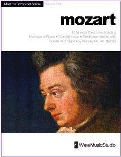 Mozart | Piano Book (Easy-Intermediate) 10 Pieces