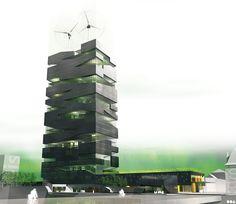 SOA Architectes Paris > Projets > La Tour Vivante