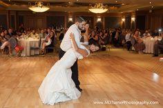 Lace cap sleeve mermaid dress - Houston wedding photography - MD Turner Photography