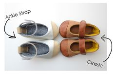 pattern for leather shoes. Can be made out of felt also. Very cute!