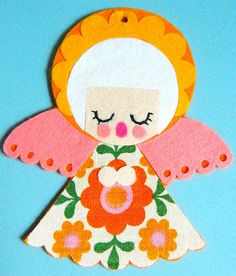 Felt and Vintage Fabric Christmas by aliceapple