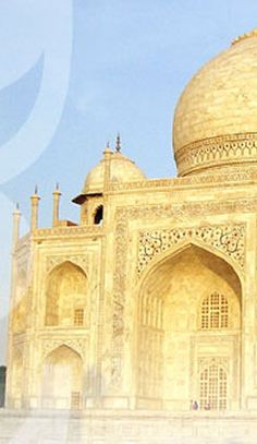 Taj Mahal, one of the most beautiful monuments, is one of the wonders of the world. What A Wonderful World, Agra, India Travel, Monuments, Travel Around, Wonders Of The World, Caribbean, Taj Mahal, To Go