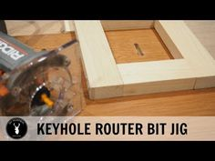 How to make a keyhole router bit jig | DIY Montreal