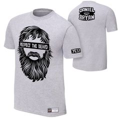 wwe superstar daniel Bryan T-shirt fear the beard  | WWE T-shirt, wwe T shirts,wwe wrestling t shirts