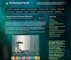 Michael Summers art on blog via The Harlequin Tea Set: http://harlequinteaset.wordpress.com/2013/06/19/michael-summers-surreal-animal-art/