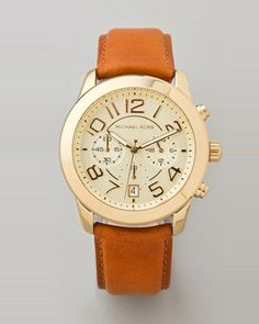 Something in me really digs this fancy pants watch... Mercer Chronograph Watch