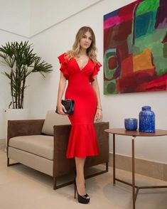 There is a shade of red for every summer❤️ Trendy Dresses, Elegant Dresses, Cute Dresses, Casual Dresses, Fashion Dresses, Formal Dresses, Cheap Evening Dresses, Mermaid Evening Dresses, Simple Homecoming Dresses