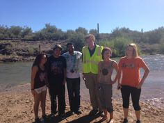 Shout out to Center for Native and Urban Wildlife (CNUW) students and faculty who spent the afternoon on Saturday, November 8 at the Verde River helping the US Forest Service clean up near the Verde River at Needle Rock and Box Bar recreation areas. #SCCCNUW #scottsdalecc #sccstudents
