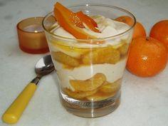 Verrine à la clémentine et crème de marron