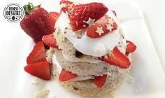 Mug Cake Erdbeere | FITNESS-DESSERT.DE